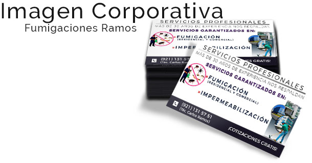 Imagen Corporativa - Fumigaciones Ramos