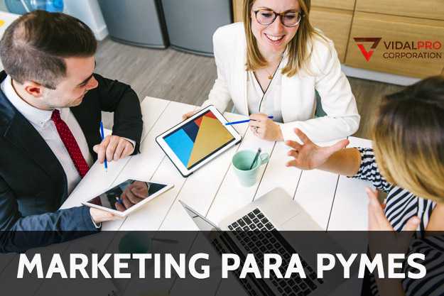Servicios de marketing para PYMES.