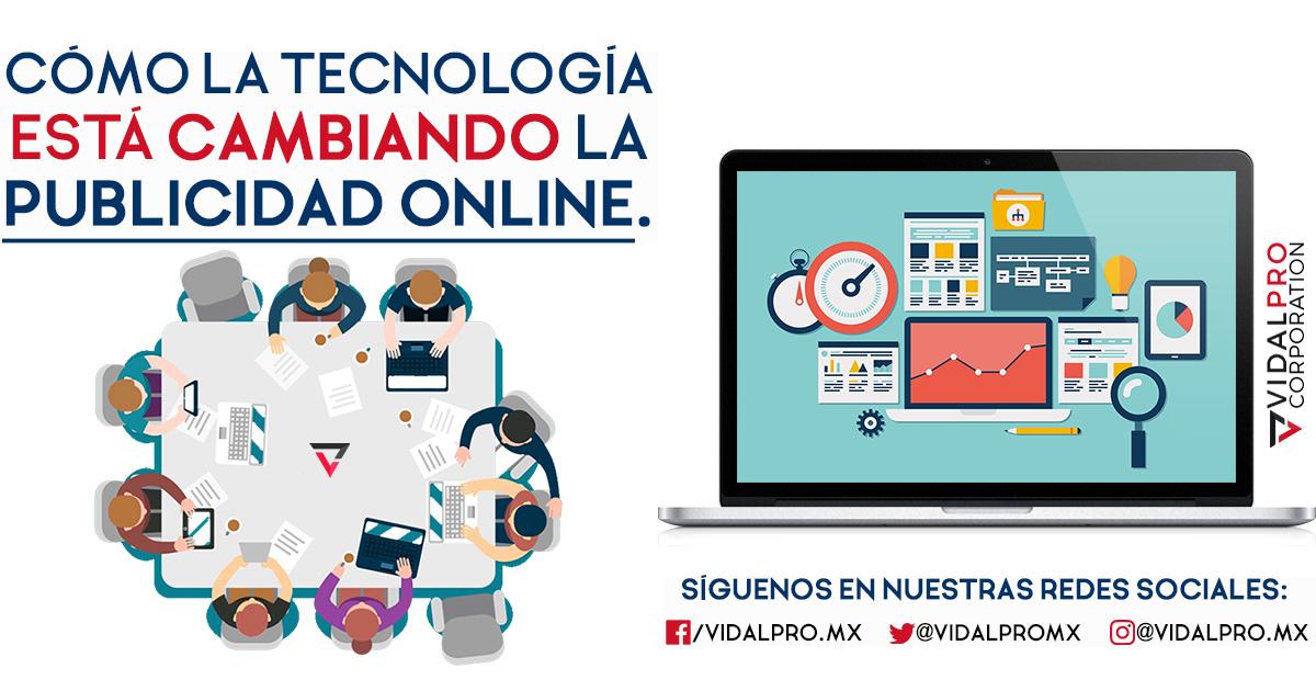 La tecnología cambia a la publicidad online