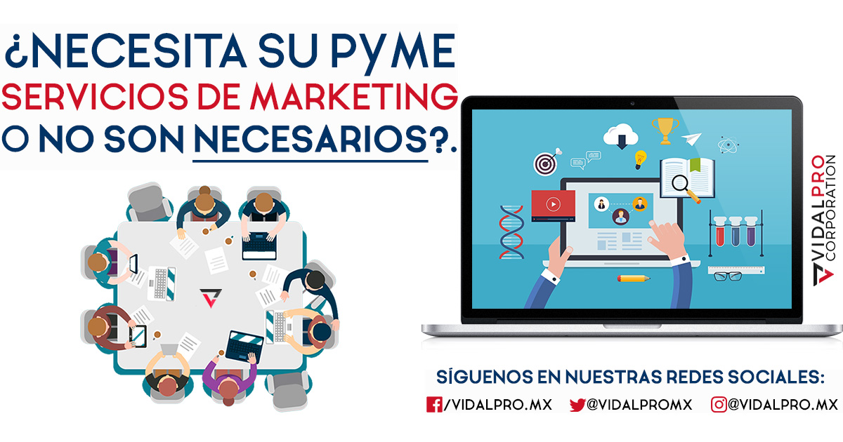 Servicios de marketing para pymes