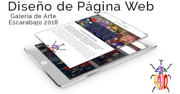 Diseño de Página Web - Escarabajo 2018