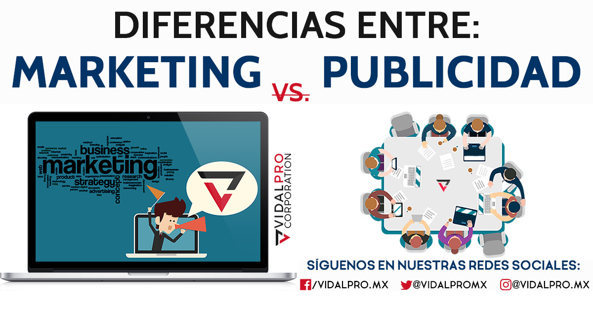 Diferencias de Marketing y Publicidad