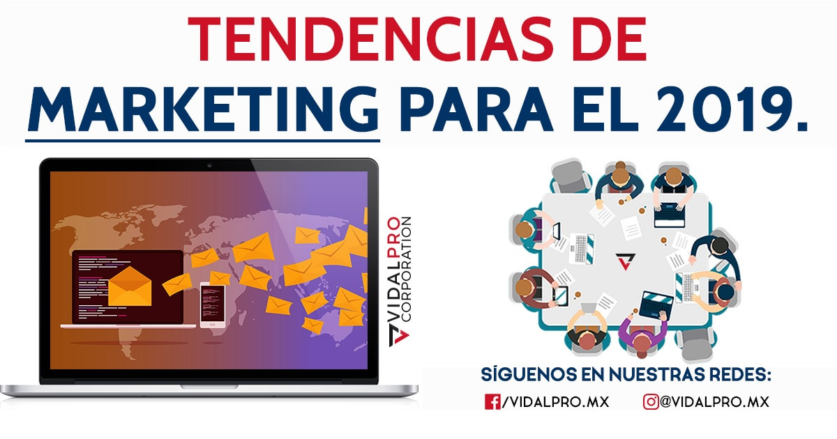 Tendencias marketing 2019