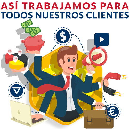 Agencia de marketing digital para clientes inteligentes.