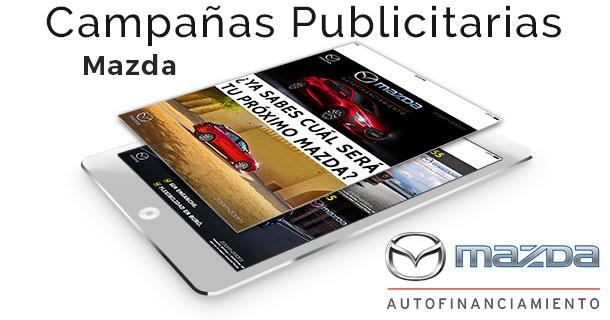 Campañas Publicitarias para Mazda